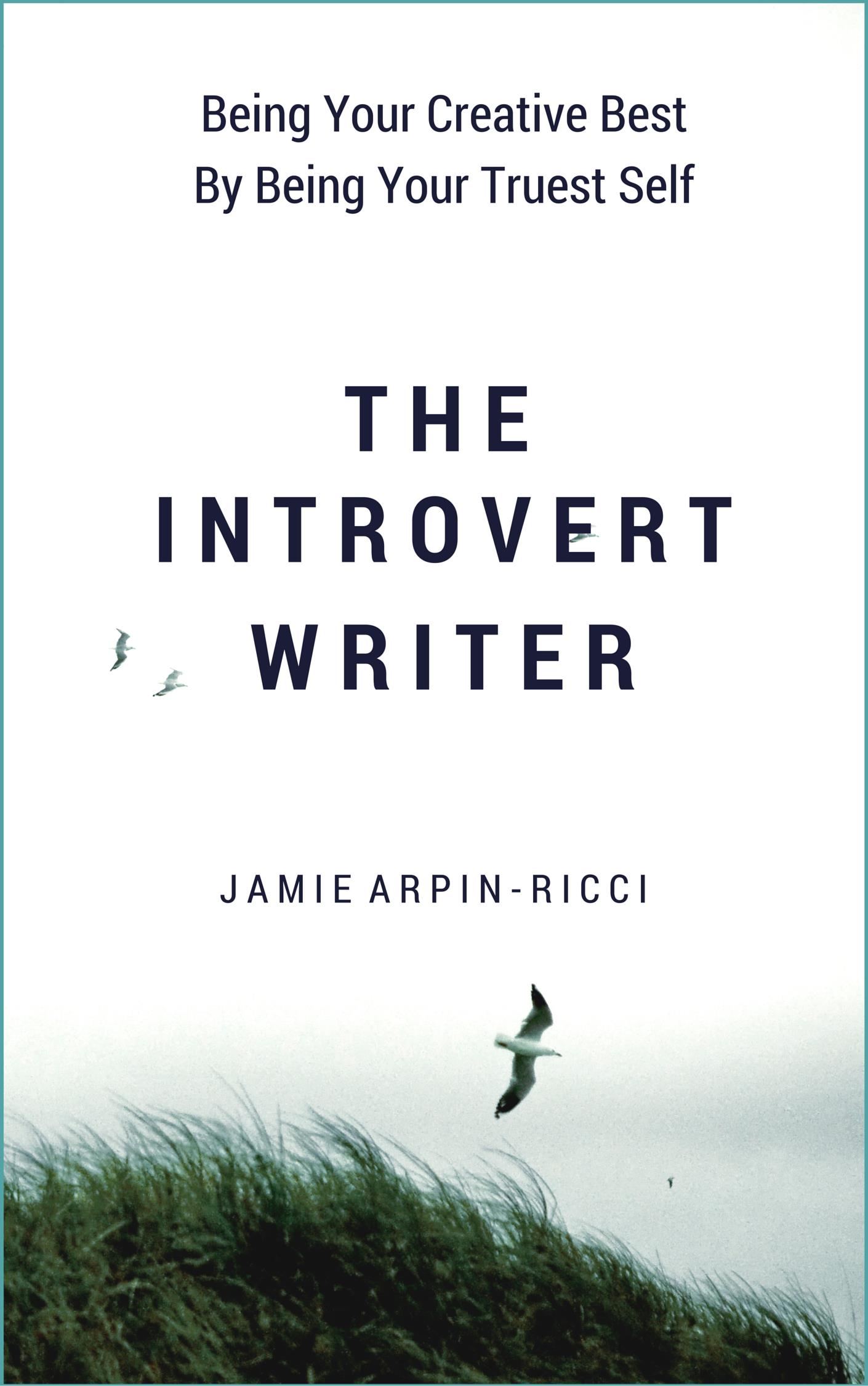 The Introvert Writer - Border Cover